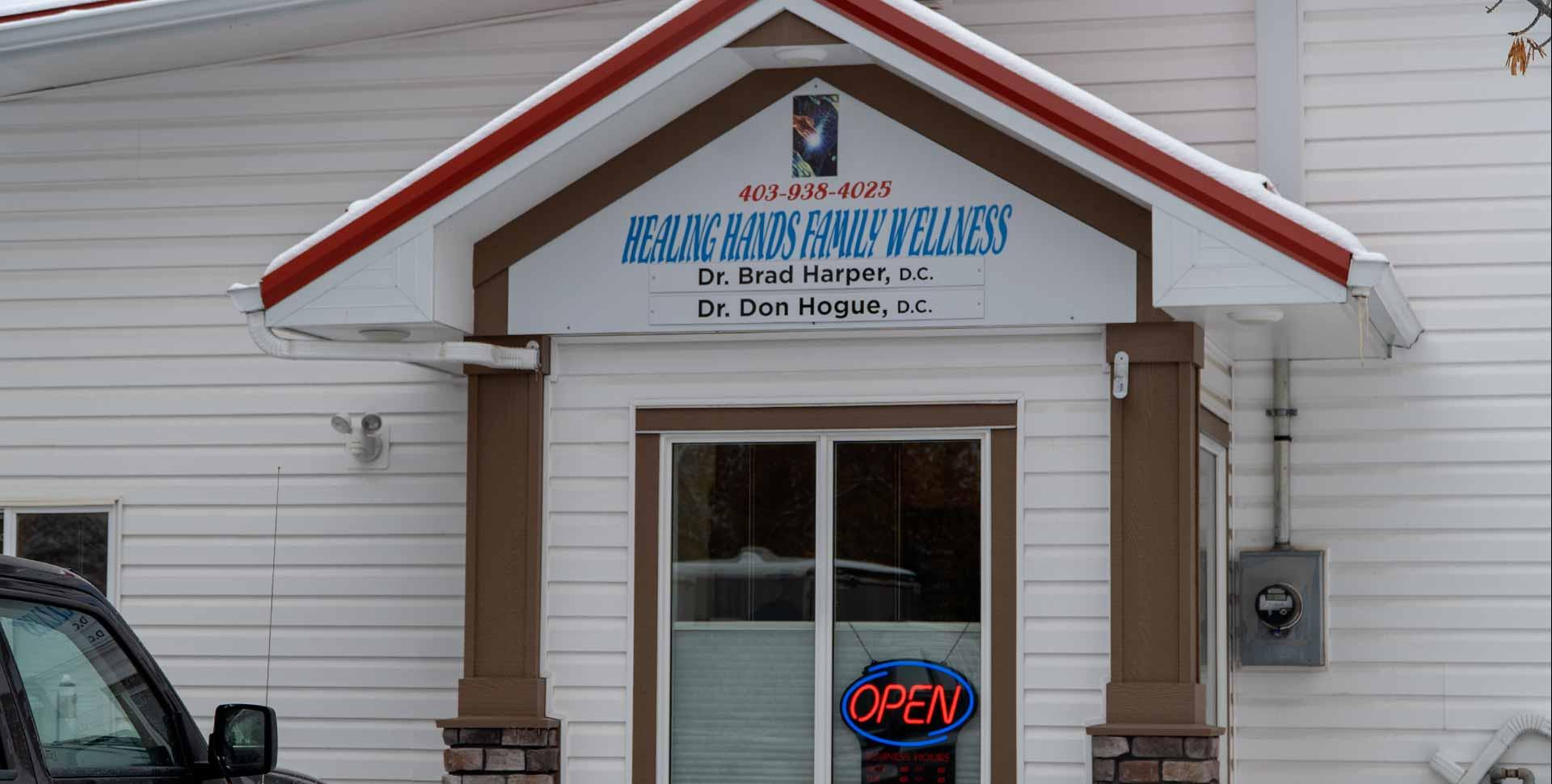 Healing Hands Wellness | Okotoks Chiropractor | Exterior Entrance